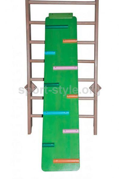 Dróżka do wspinaczki 2 w 1 BABYPLAY Color