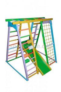 Plac zabaw wewnętrzny BAMBINO 12 sosna Czarodziej Kolorowy