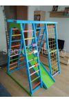 Plac zabaw wewnętrzny BAMBINO 14 sosna Czarodziej Niebieski