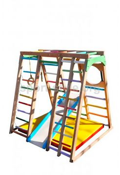 Plac zabaw wewnętrzny BAMBINO 16 Maxi buk kolor
