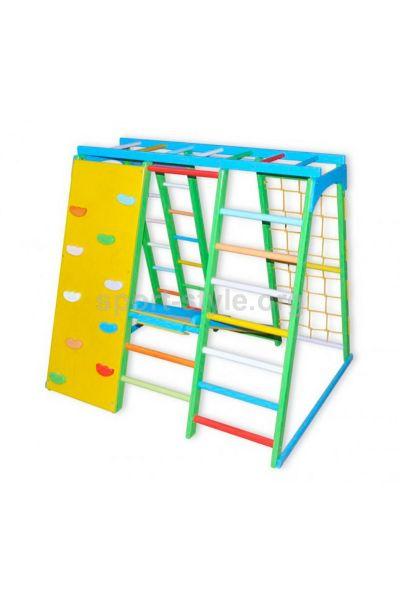 Plac zabaw wewnętrzny BAMBINO 20 Maxi buk ścianka kolor