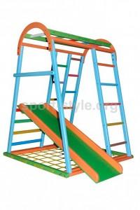 Plac zabaw wewnętrzny KIDDY 1 sosna kolor