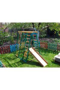 Plac zabaw zewnętrzny BAMBINO 15 Babyplay sosna kolor