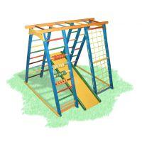 Plac zabaw zewnętrzny BAMBINO 21 Czarodziej