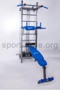 Drabinka gimnastyczna z wyciągiem górnym BOSS ACTIVE