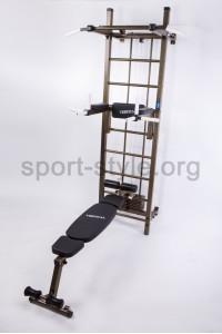 Drabinka gimnastyczna z wyciągiem górnym BOSS INTENSIVE