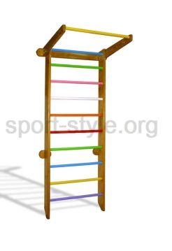 Drabinka gimnastyczna BASIC COLOR Kolorowy Dąb