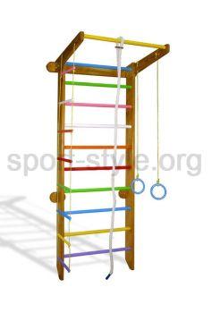 Drabinka gimnastyczna COLOR 11 Kolorowy Dąb