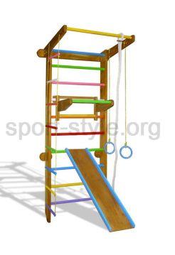 Drabinka gimnastyczna COLOR PLUS 11 Kolorowy Dąb