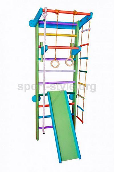 Drabinka gimnastyczna COLOR Plus 7 Papużka