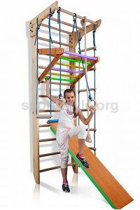 Drabinka gimnastyczna KINDER 3-240 sosna