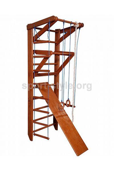 Drabinka gimnastyczna ORZECH 3-220