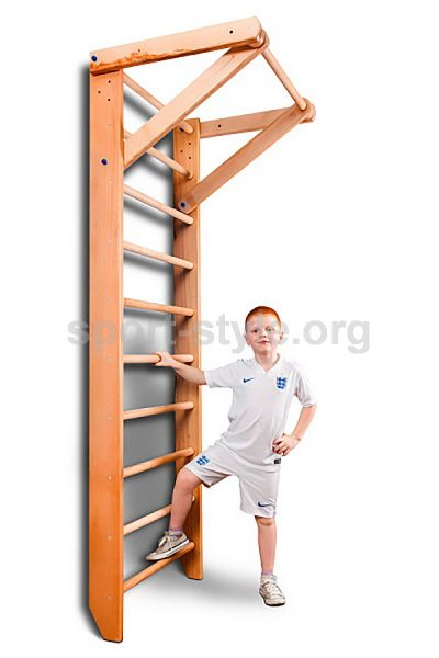 Drabinka gimnastyczna BABY 1-220 buk
