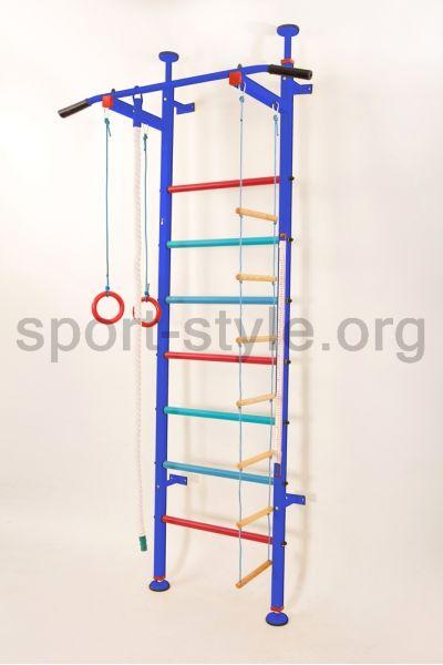 Drabinka gimnastyczna KINDER COLOR BLUE