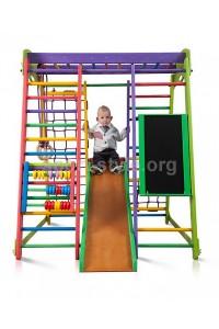 Plac zabaw wewnętrzny składany AKWARELKA