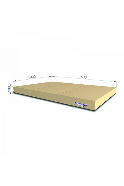 Materac gimnastyczny składany 150x100x10